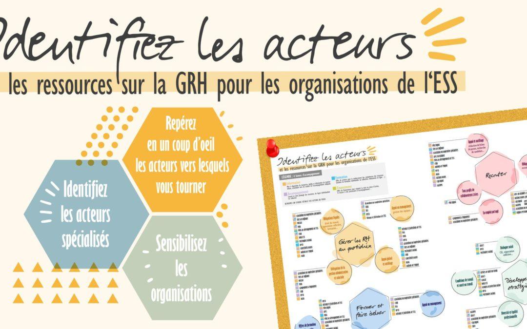 Découvrez le Panorama des acteurs de l'accompagnement à la Gestion des Ressources Humaines pour l'ESS! 🧐