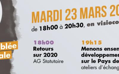 Participez à notre Assemblée Générale du 23 mars!