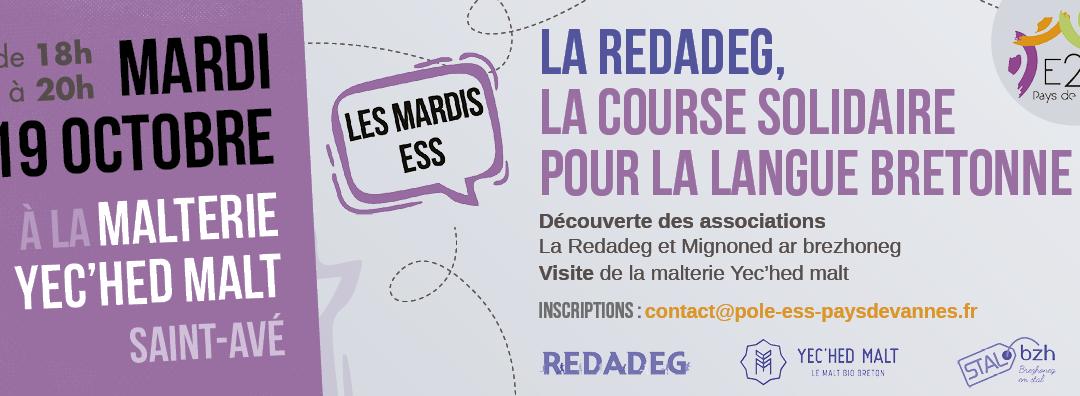 MARDI ESS: La Redadeg: La course solidaire pour la langue Bretonne